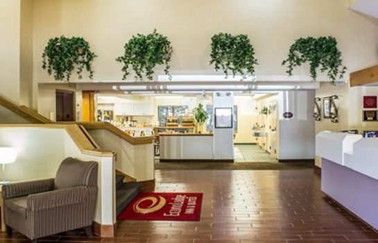 Hotelhalle Econo Lodge Inn & Suites Raleigh North