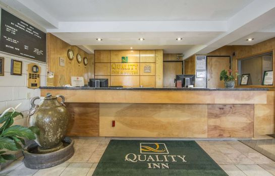 Hotelhalle Quality Inn Quesnel