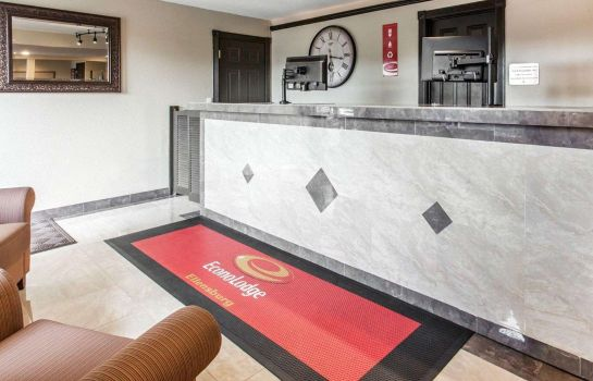 Lobby Econo Lodge Ellensburg Near University