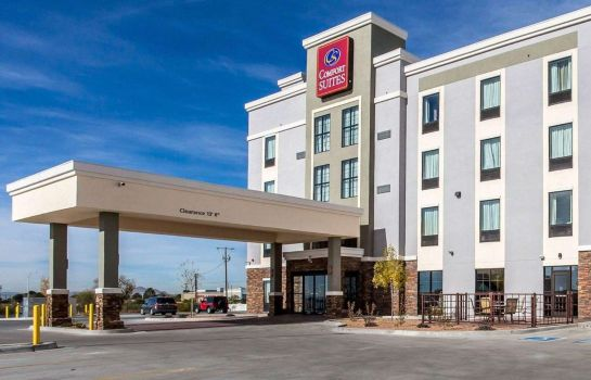 Vista esterna Comfort Suites Las Cruces I - 25 North