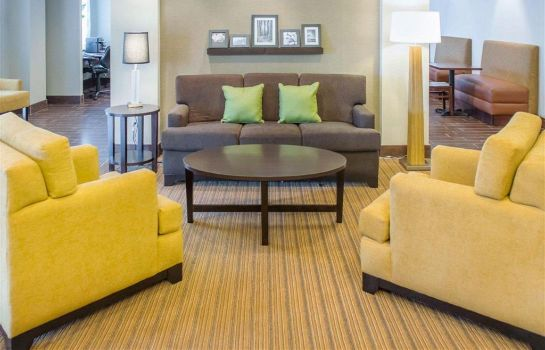 Hotelhalle Sleep Inn and Suites Defuniak Springs -