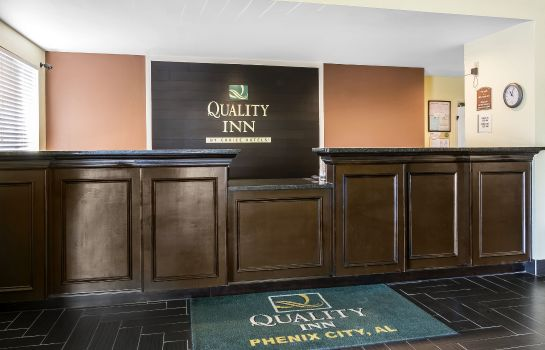 Hotelhalle Quality Inn Phenix City