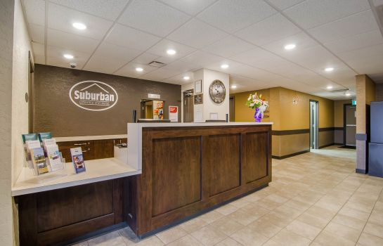Hotelhalle Quality Inn and Suites Kindersley
