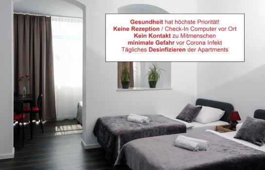 Chambre double (standard) Apartment City Lenaustraße