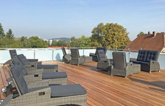 Terrasse Apart-Hotel FirstBoarding Bayreuth