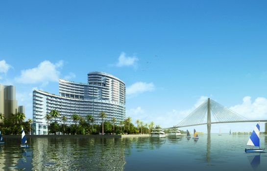 Vista exterior HUALUXE Hotels and Resorts HAIKOU SEAVIEW