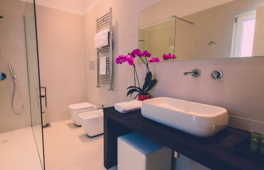 Bagno in camera Siracusa Luxury B&B