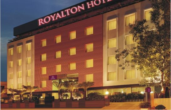 Exterior view Royalton Hyderabad