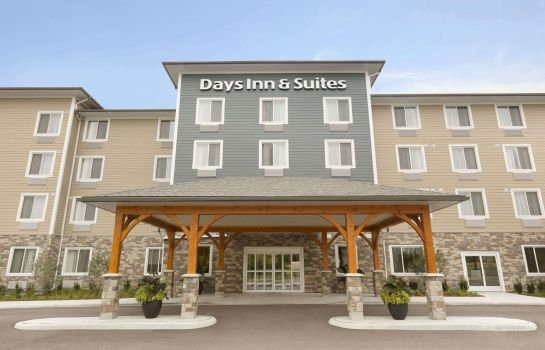 Außenansicht Days Inn and Suites Lindsay