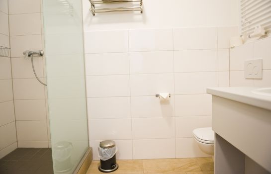 Bagno in camera Boardinghouse Neustadt