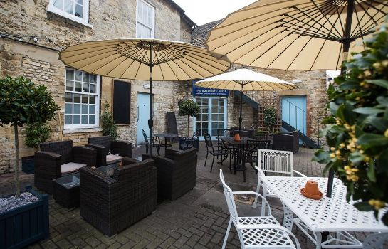 Terrasse The Blue Boar