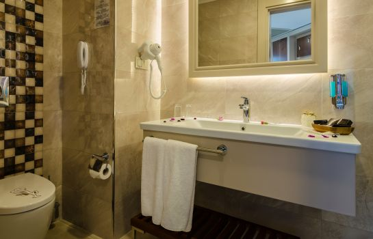 Bagno in camera The Lumos Deluxe Resort  & SPA (ultra all inclusive Hotel)