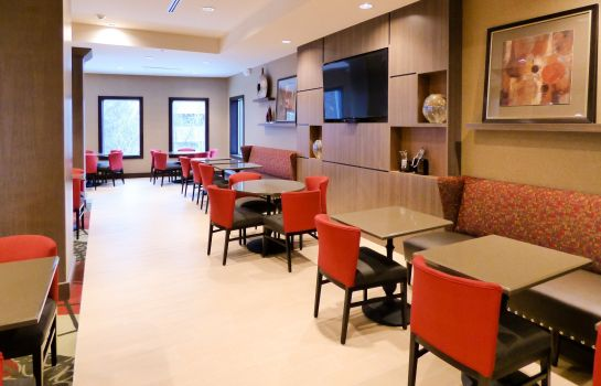 Vestíbulo del hotel Holiday Inn Express & Suites PLYMOUTH - ANN ARBOR AREA