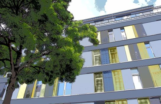 Vista esterna Domapartment Aachen City