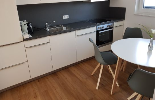 Cucina in camera Domapartment Aachen City