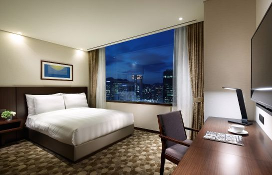 Chambre double (standard) Lotte City Hotel Myeongdong