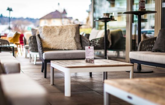 Terrasse Rocket ROOMS Velden
