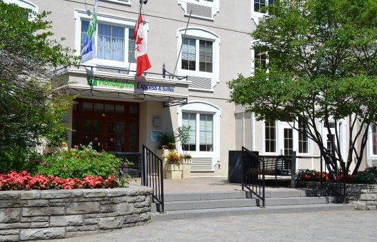 Vista esterna Holiday Inn Express & Suites TREMBLANT