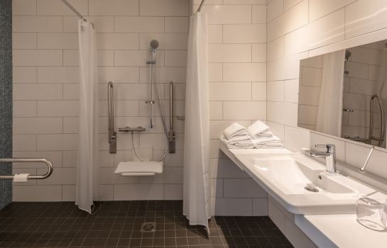 Badezimmer Holiday Inn Express MUNICH CITY WEST