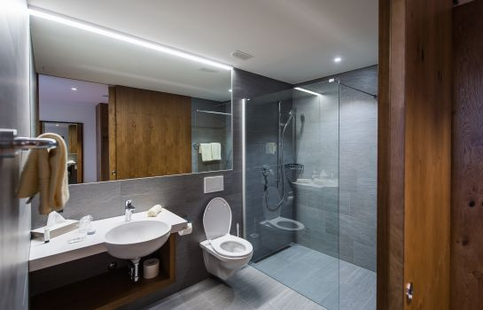Bagno in camera Hotel one66