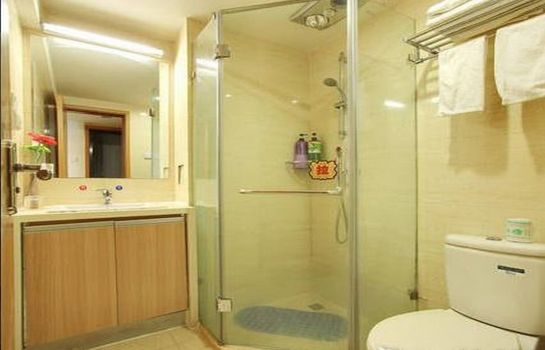 Bagno in camera Baiyue Holilday Apartment