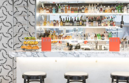 Bar del hotel PLACID HOTEL Design & Lifestyle Zurich