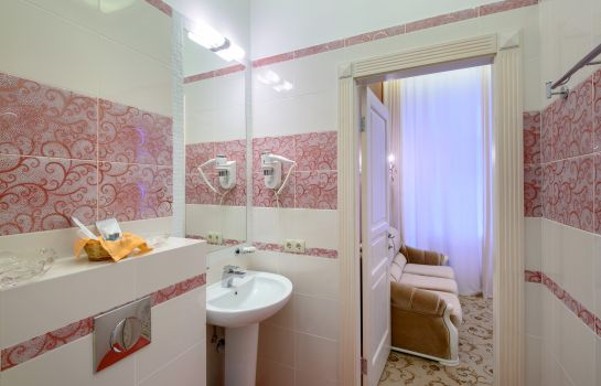 Bagno in camera Silver Horse Boutique Hotel
