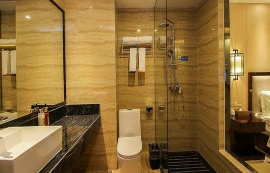 Bagno in camera Jiajie Hotel East High Railway Station Branch