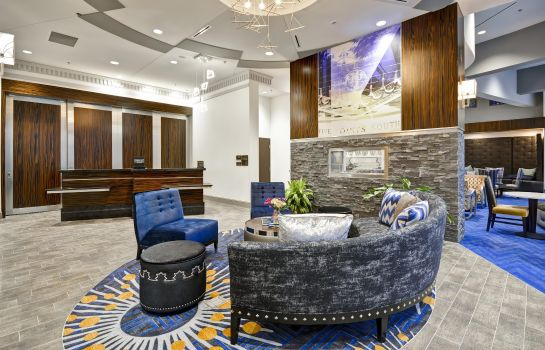 Hotelhalle Homewood Suites by Hilton Birmingham Downtown Near