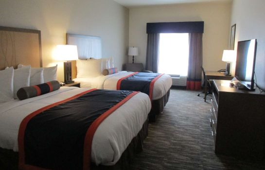 Zimmer BEST WESTERN PLUS ARDMORE INN