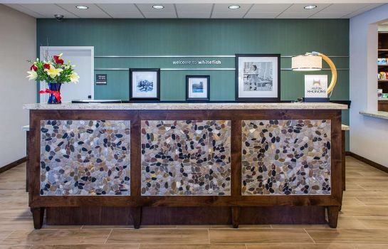 Hotelhalle Hampton Inn - Suites Whitefish