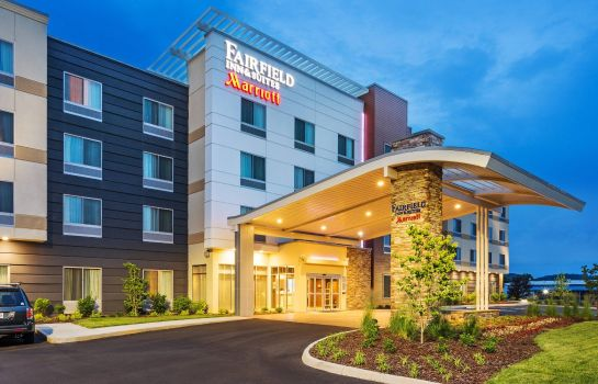 Buitenaanzicht Fairfield Inn & Suites Johnson City