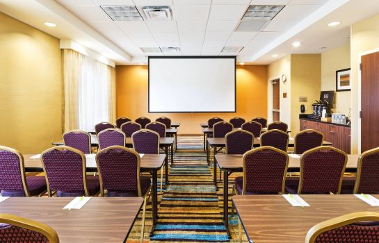 Conference room Fairfield Inn & Suites Johnson City