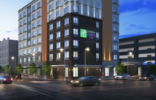 Vue extérieure Holiday Inn Express & Suites LOUISVILLE DOWNTOWN