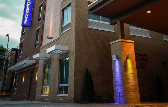 Widok zewnętrzny Holiday Inn Express & Suites LOUISVILLE DOWNTOWN