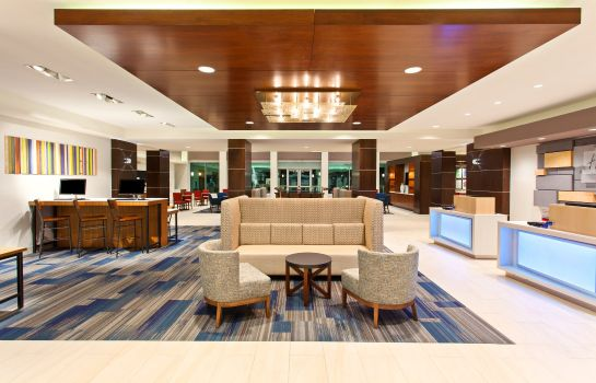 Hall de l'hôtel Holiday Inn Express & Suites HOUSTON S - MEDICAL CTR AREA