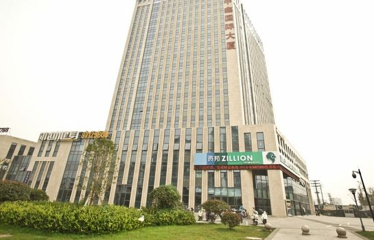Außenansicht GreenTree Inn Jiangyang(E)Road Zhongxin Building (Domestic only)