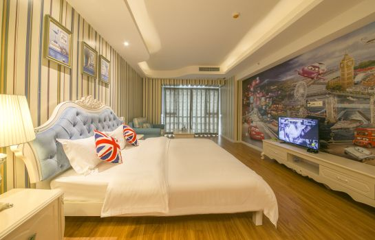 Habitación individual (confort) Chengdu mind home boutique theme apartment