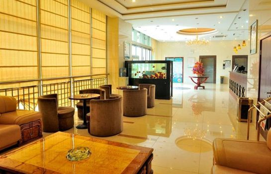 Vestíbulo del hotel GreenTree Inn North Qingyang Road (Domestic only)