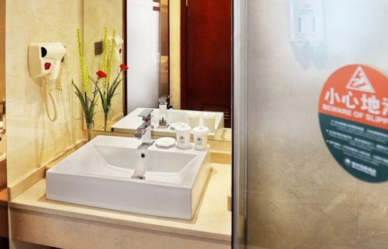 Bagno in camera GreenTree Inn Changzhou Hutang Textile City (Domestic only)