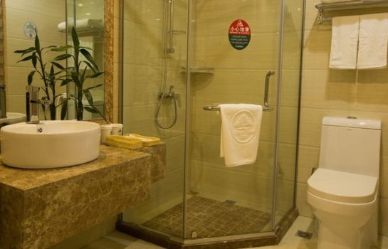 Bagno in camera GreenTree Inn HuiDa Square Express (Domestic only)