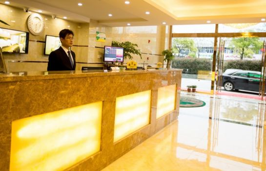 Reception GreenTree Inn HuiDa Square Express (Domestic only)