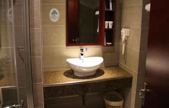 Bagno in camera GreenTree Inn Tongzhou Shiji Avenue(Domestic only)
