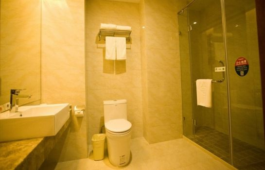 Badezimmer GreenTree Inn Jiangyang(E)Road Zhongxin Building (Domestic only)