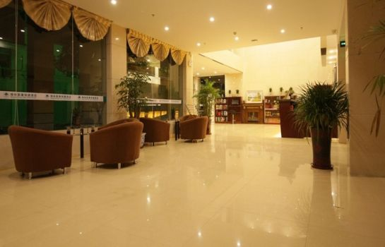 Hotelhalle GreenTree Inn Market West KaiFa Road Express (Domestic only)