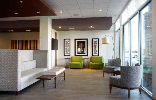 Hall de l'hôtel Holiday Inn Express & Suites OMAHA - MILLARD AREA