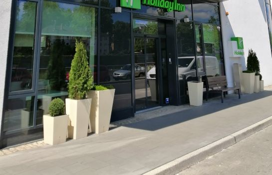 Buitenaanzicht Holiday Inn DUSSELDORF CITY TOULOUSER ALL.