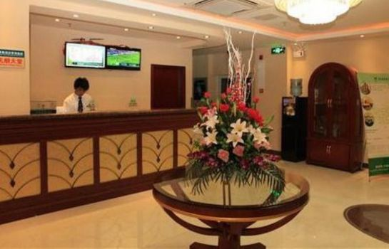 Recepción GreenTree Inn Penglang Xinxing Road (Domestic only)