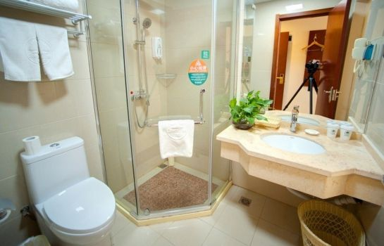 Cuarto de baño GreenTree Inn Garden Jinji Lake Xinghu Street (Domestic only)
