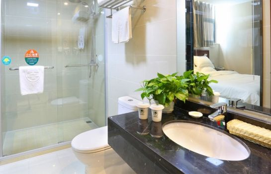 Bagno in camera GreenTree Inn Industrial Park QingJian Lake (Domestic only)